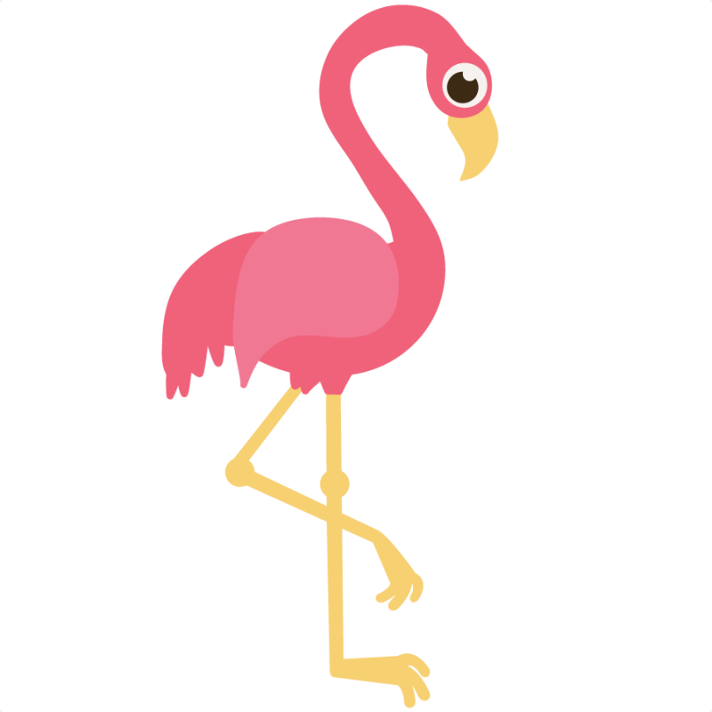 Pink Flamingo Clipart | animalgals