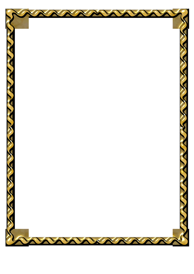 Gold Border Free Download