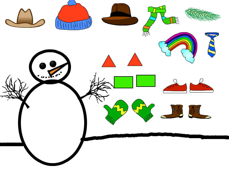 Cold Weather Snowman Glyphs-Collecting Data with 1st Grade ...