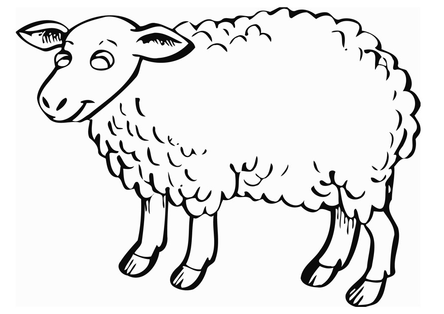Sheep Templates Printable - Cliparts.co
