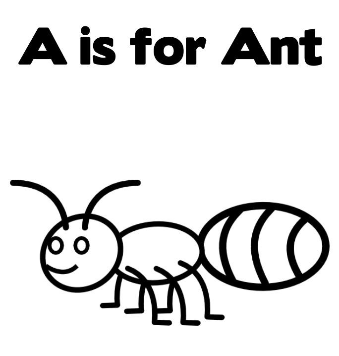 Leaf Cutter Ant Coloring Page Coloring Pages