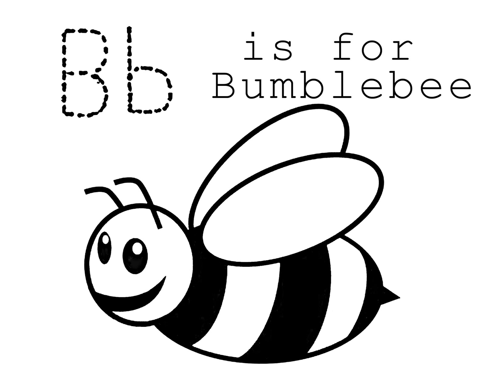 Bumble Bee Template Cliparts Co