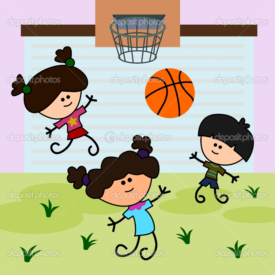 playing cartoon