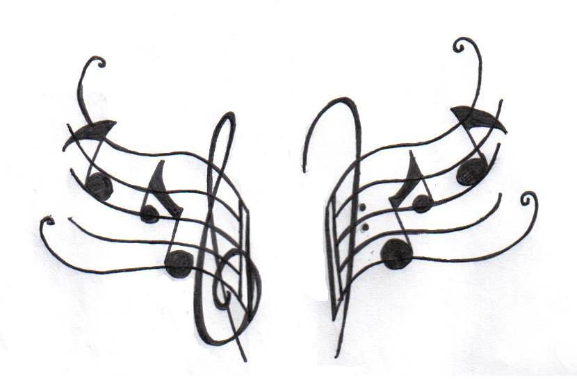 Cool music note