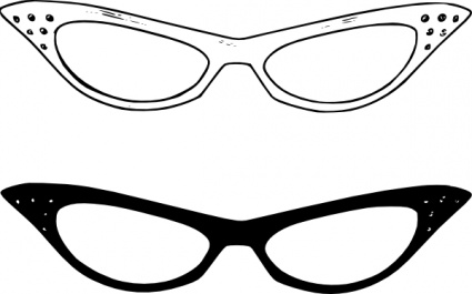 Eyeglass Frame Clipart : Glasses Clipart - Cliparts.co