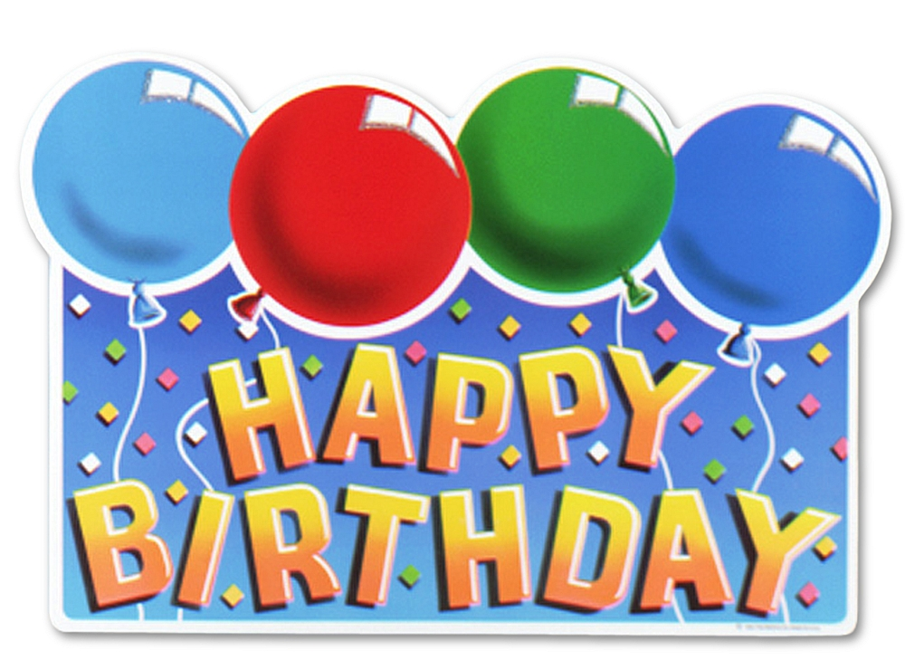 It is an image of Stupendous Printable Happy Birthday