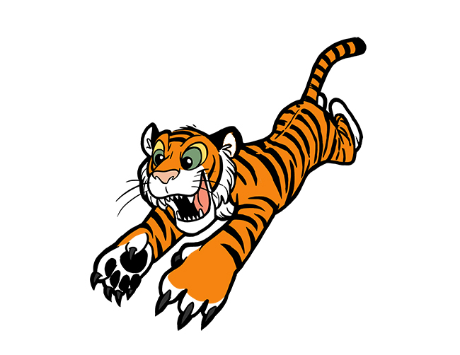 Cool Tiger Pictures Cartoon - ClipArt Best