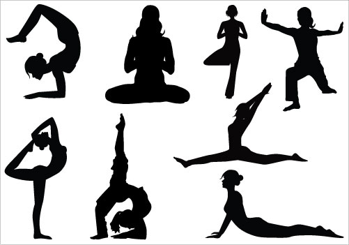 free clipart yoga - photo #27