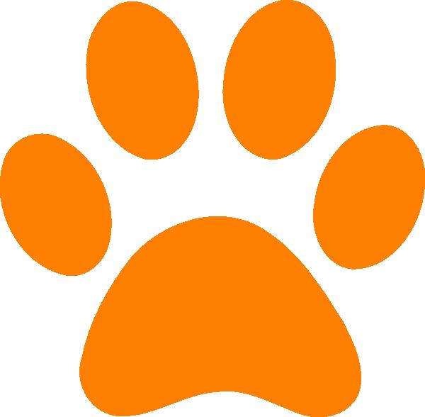 tiger paw template - clemson tiger paw stencil