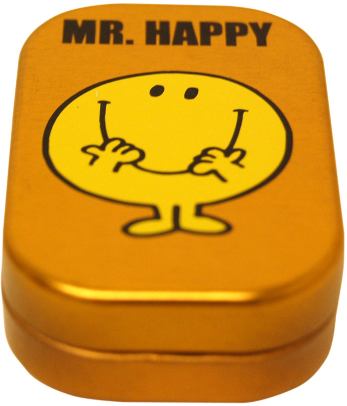 Mr Men Mint Tin. Mr Happy Classic Kids Books and TV Peppermint ...