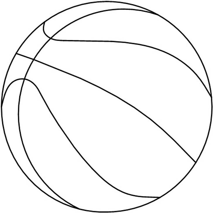 Line Art Basketball : Images of basketball cliparts