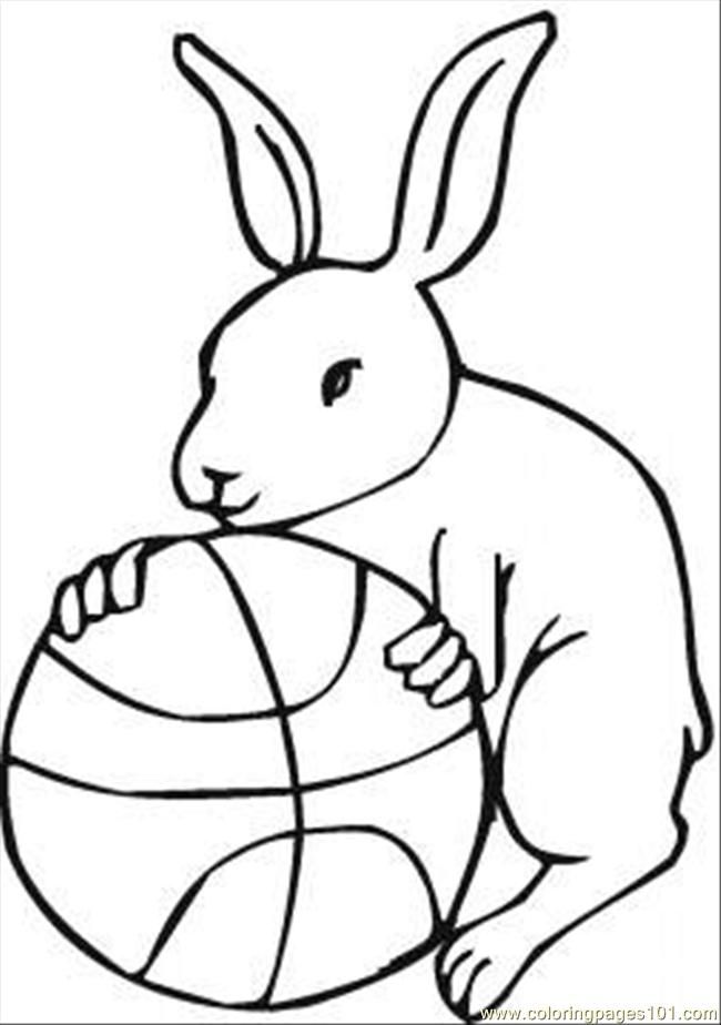 Printable basketball pictures for Sports coloring pages pdf