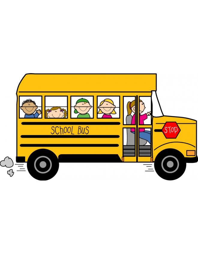 yellow bus clipart - photo #27