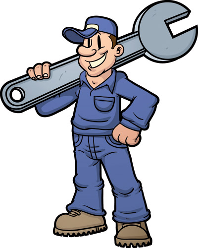 free clipart maintenance worker - photo #2