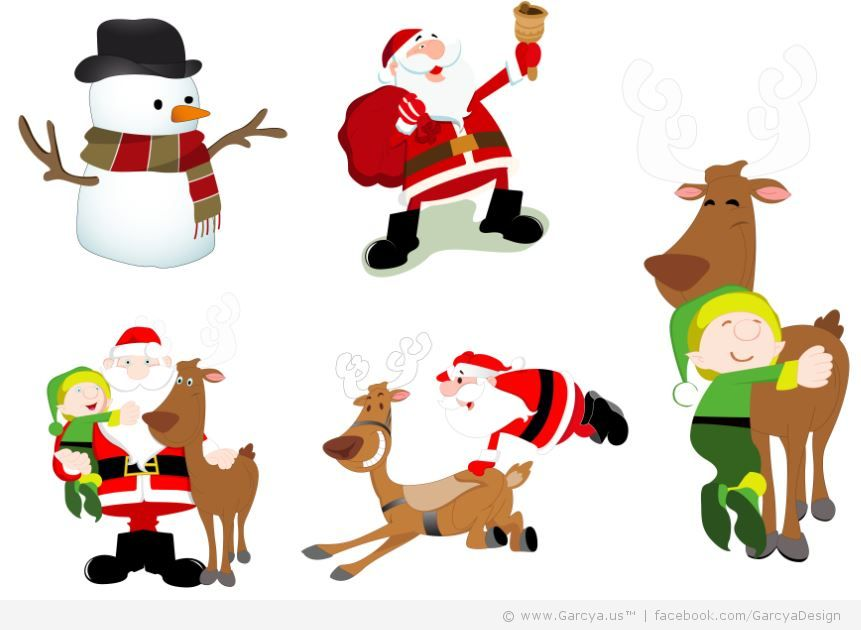 Free Character Design Website : Pictures of christmas characters cliparts
