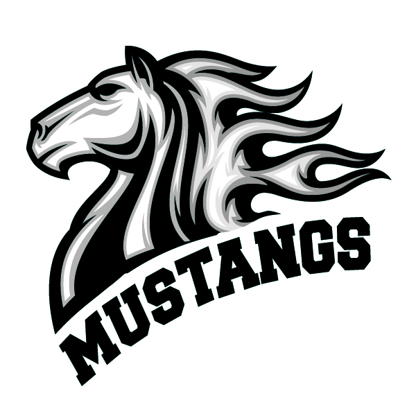 mustang mascot logo cliparts co School Panther Logo Panthers Football Logo