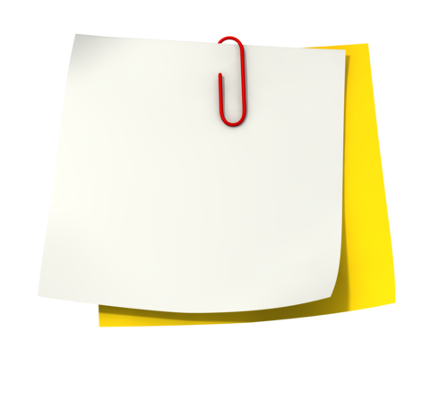 Note Paper Png Images & Pictures - Becuo