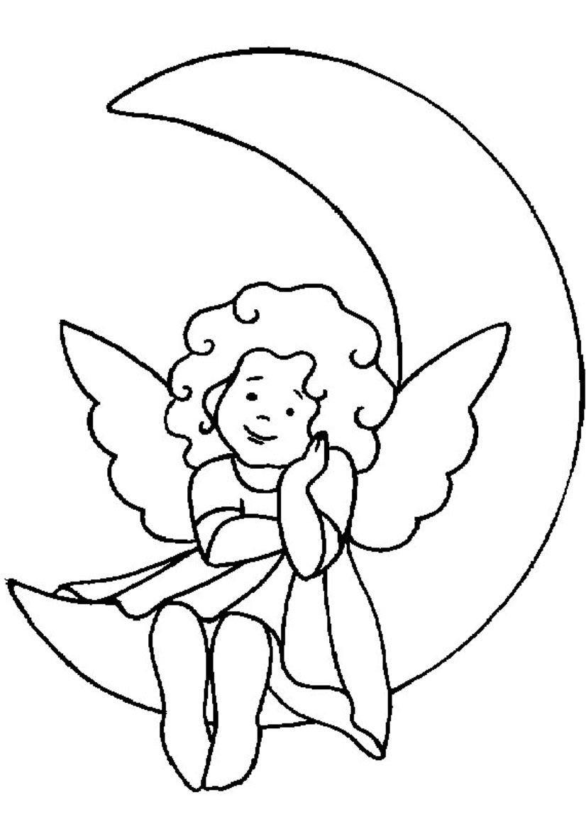 simple angel pictures cliparts co