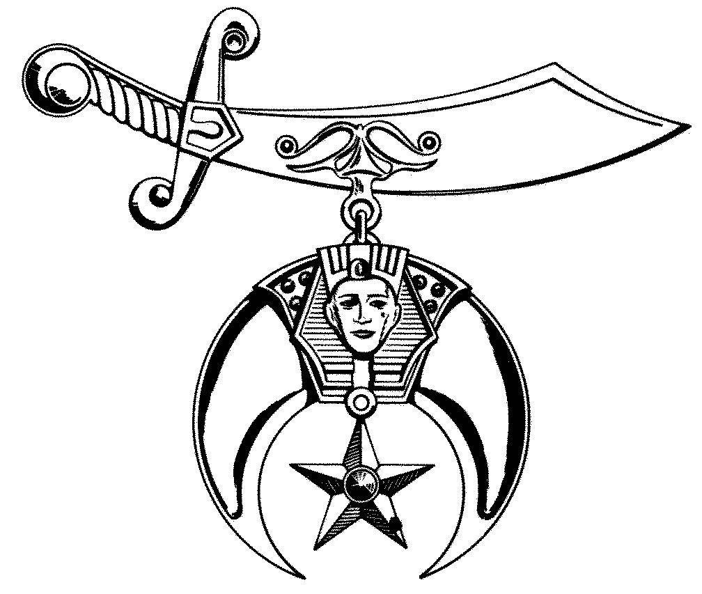 shriner clipart rh worldartsme com shriners emblems clipart Shriner Graphics