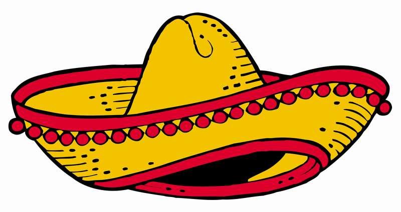 clip art mexican hat - photo #7