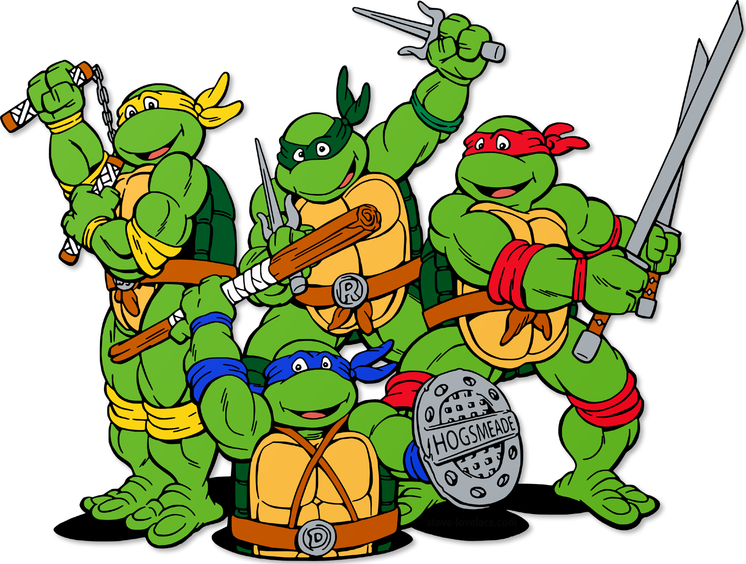 ninja turtle clip art free - photo #3