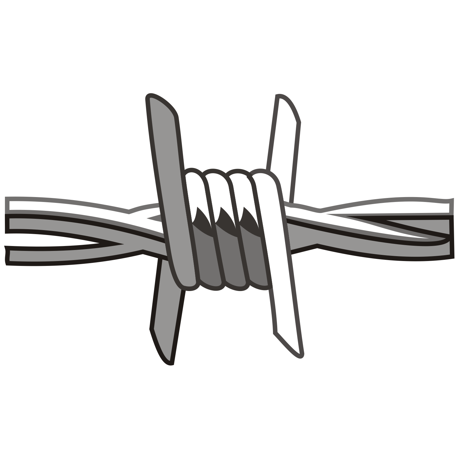 Barbed Wire Borders - ClipArt Best