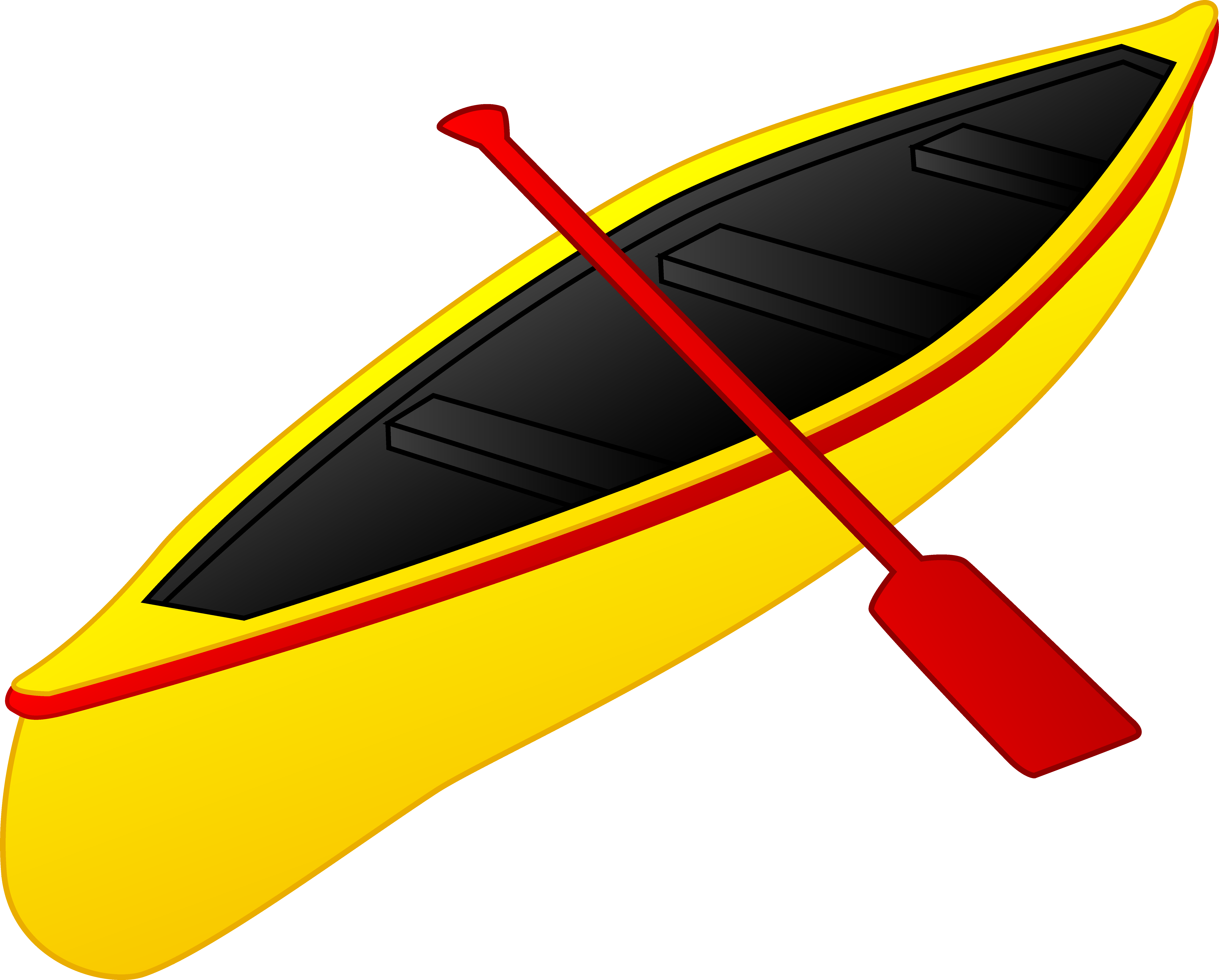 clipart of a kayak - photo #1