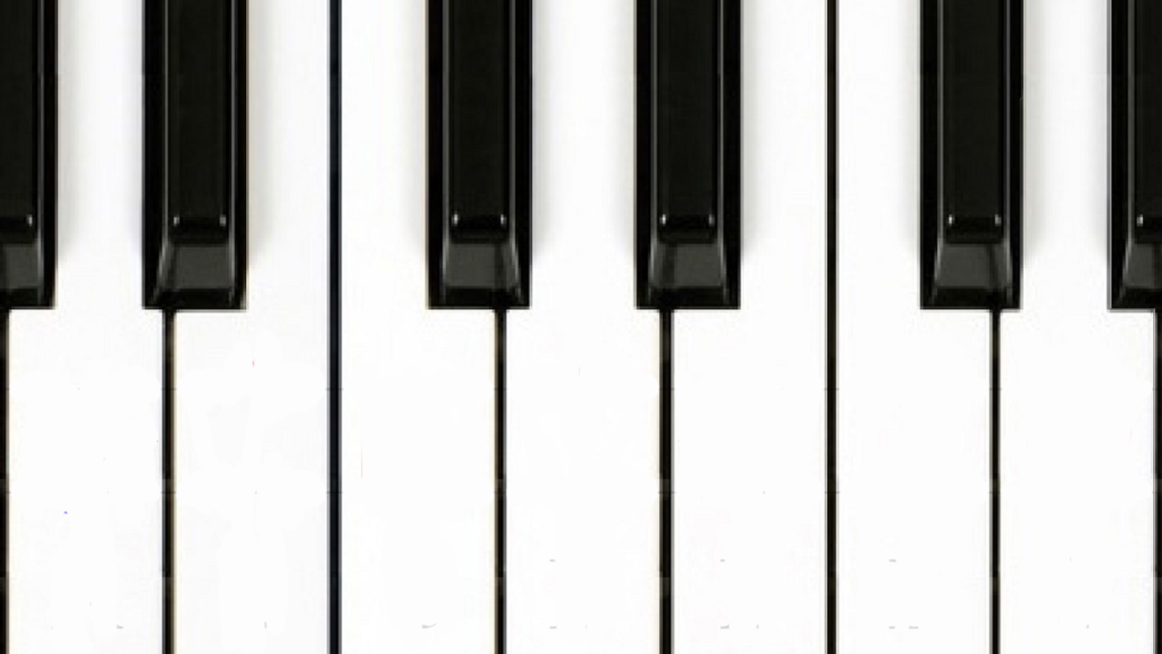 Piano Keys Silhouette Images & Pictures - Becuo