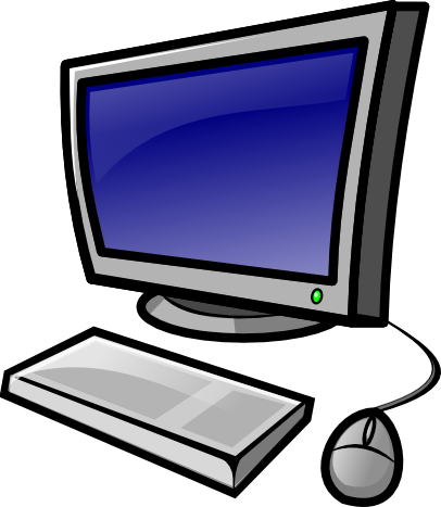Free to Use & Public Domain Desktop Computer Clip Art