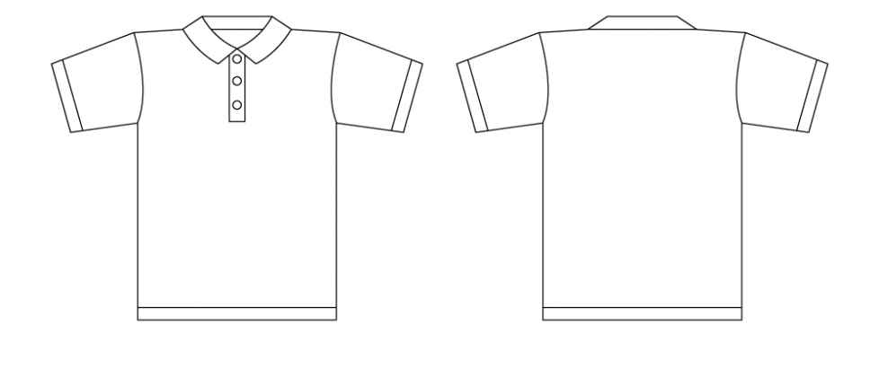 Girl Tee Shirt Design Layout