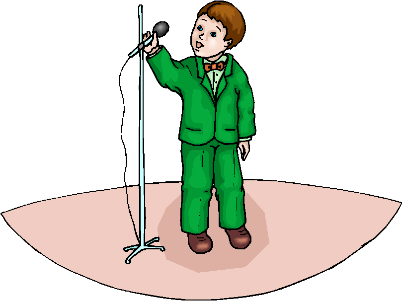 child singer clipart -#main