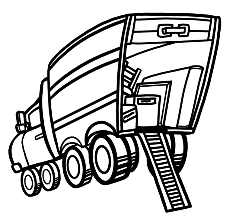 Moving Truck Clip Art - Cliparts.co
