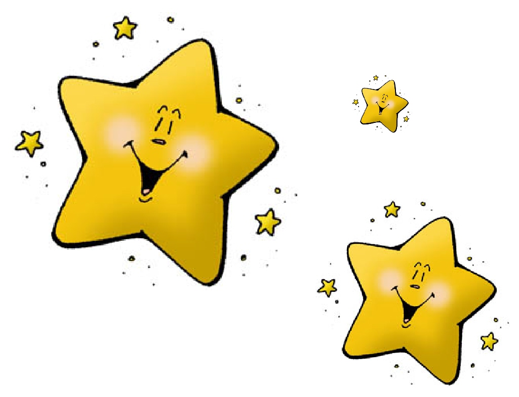 STARS CLIP ART :: KINDERGARTEN WORKSHEETS GUIDE - Kindergarten ...