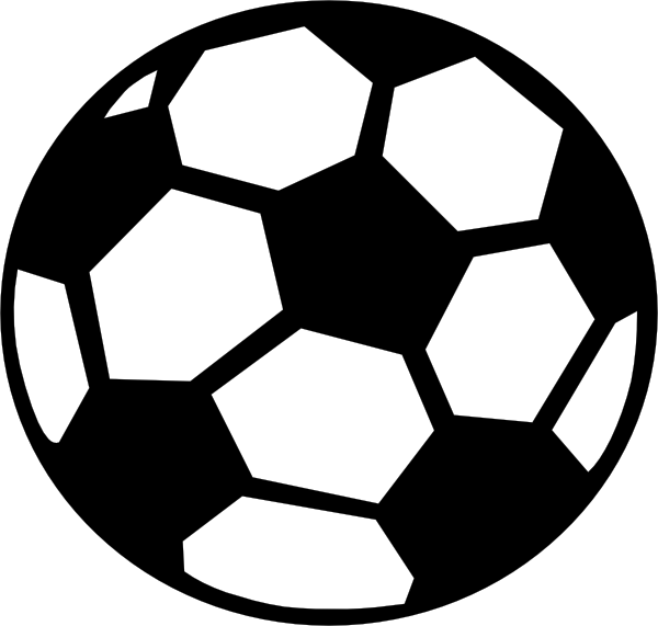 Soccer Ball clip art - vector clip art online, royalty free ...