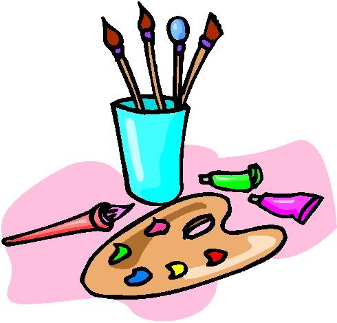 Painting Clip Art Kid