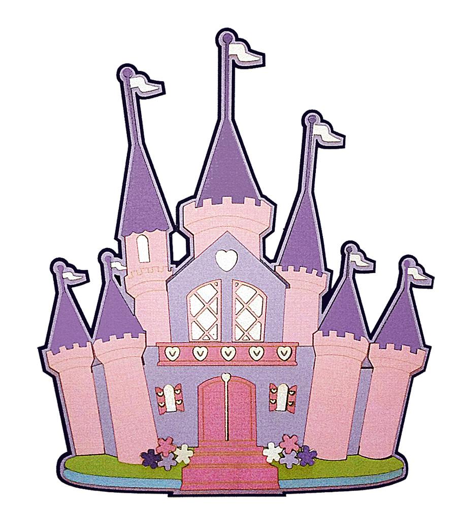 free disney princess castle clipart - photo #15