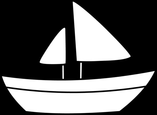 Sailboat Outline Clip Art at Clker.com - vector clip art online ...