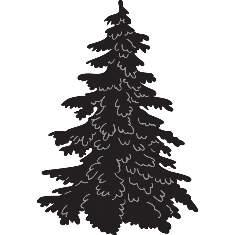 Pine Tree Silhouette Tattoo - Viewing Gallery - Cliparts.co