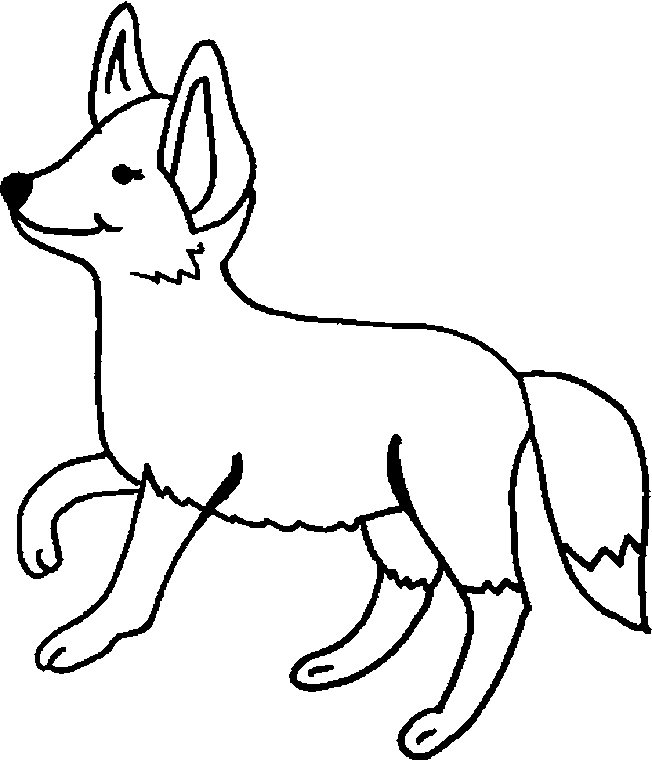 g fox co coloring pages - photo #8