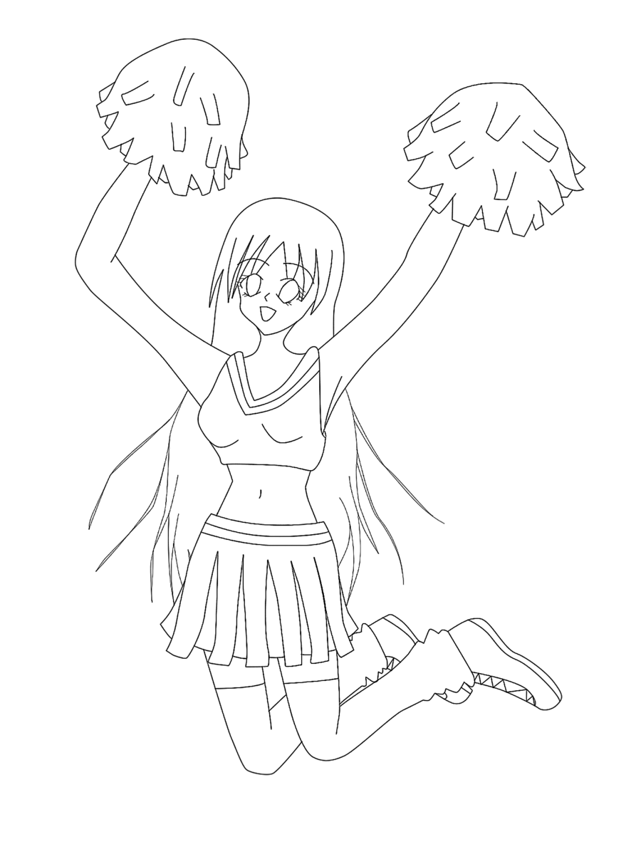 cheerleading stunt coloring pages cliparts co I Love Cheerleading Coloring Pages  Cheerleading Stunt Coloring Pages