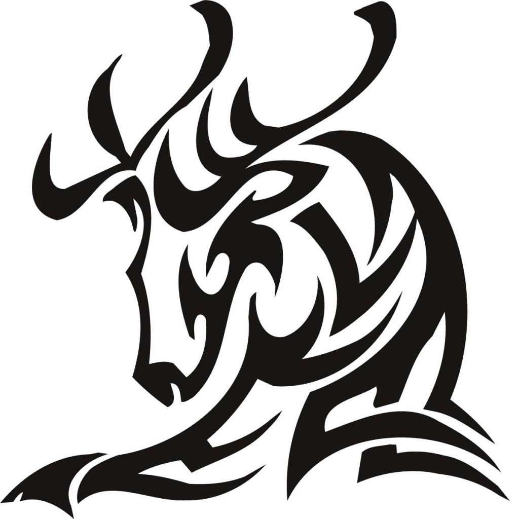 Tribal Deer Tattoo Designs Images & Pictures - Becuo