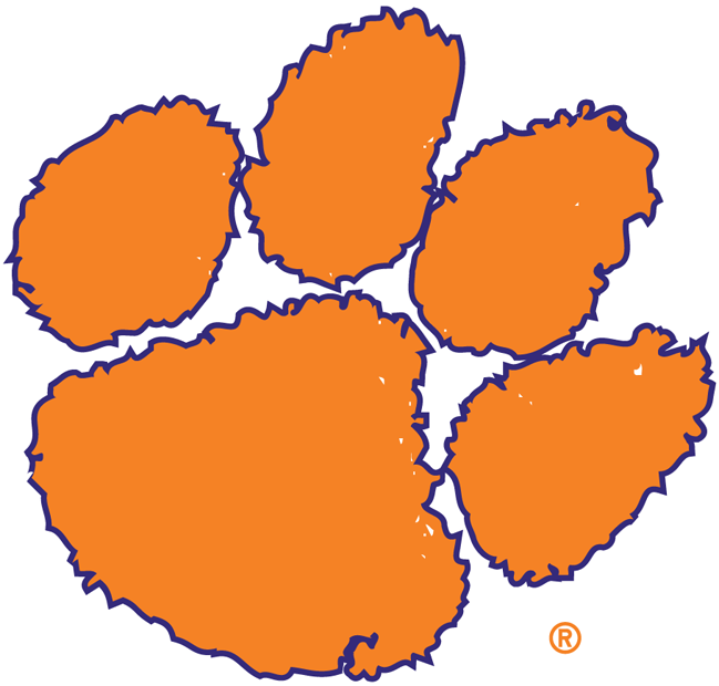 Clemson Tiger Paw Image Free - ClipArt Best