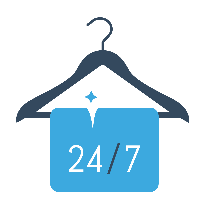 ZoomLocker | Zoom Into 24/7 Dry Cleaning And Laundry! - Cliparts.co