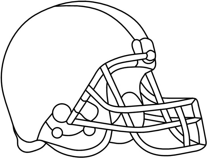 Free Printable Football Stencils - ClipArt Best
