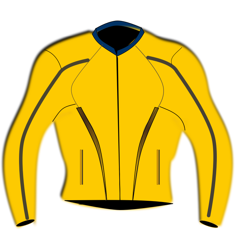 free clip art yellow jacket - photo #13