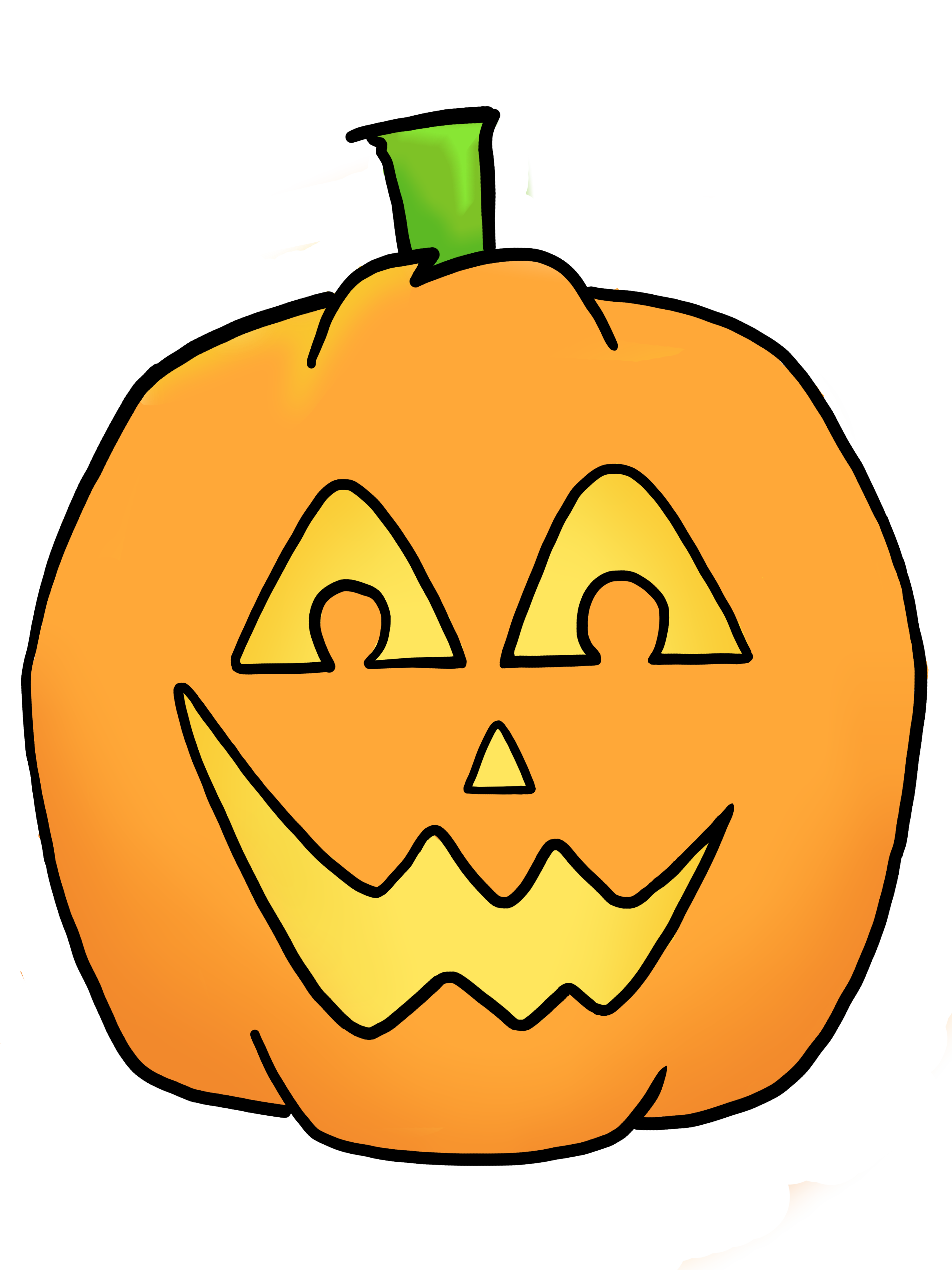 Happy Jack O Lantern Clipart | Clipart Panda - Free Clipart Images