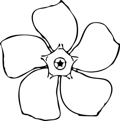 Flowers Clipart Black And White | Clipart Panda - Free Clipart Images
