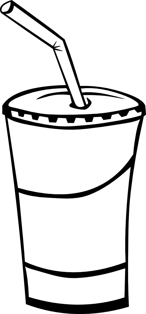 OnlineLabels Clip Art - Fast Food, Drinks, Soda, Fountain Drink ...