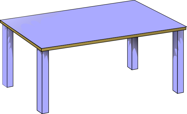 Classroom Table Clipart | Clipart Panda - Free Clipart Images