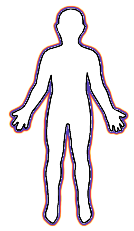 Human Body Outline Printable  Clipartsco